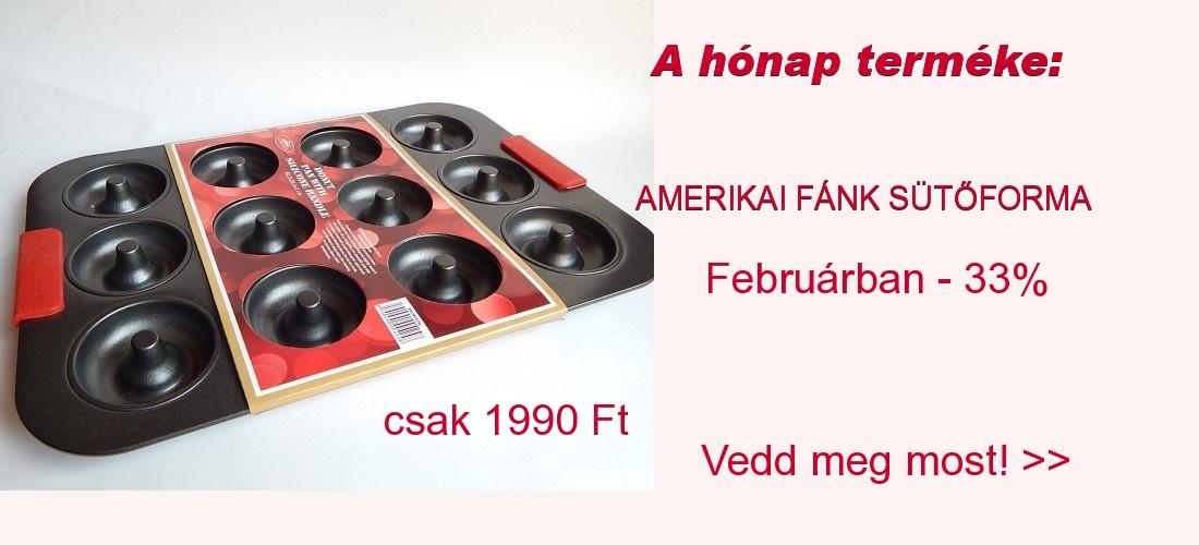 Február hónap terméke