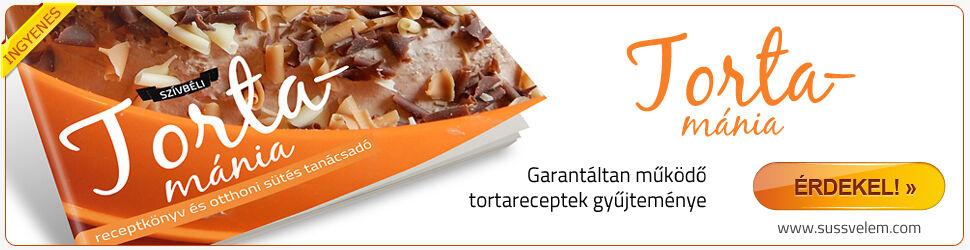 Szívbéli tortamánia receptkönyv