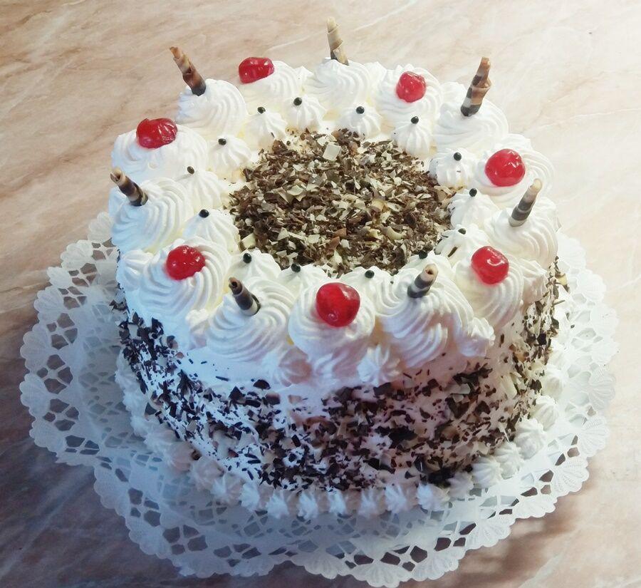 Feketeerdő torta 1