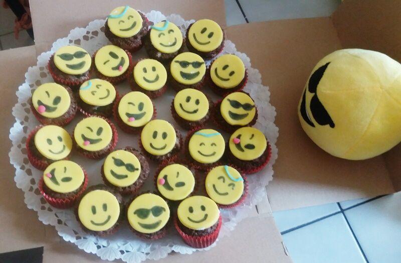 Elkészült smile muffin