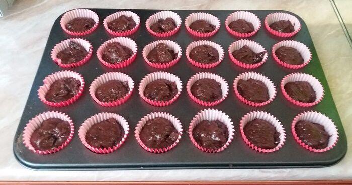 Muffin adagolása