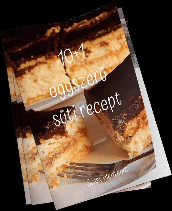 10+1 egyszerű süti recept