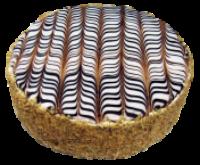 Eszterházy torta teteje
