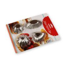 8 részes mini sütőforma készlet 4 -féle A minta