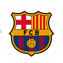 FC Barcelona tortaostya 20 cm