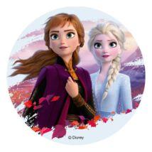 Anna és Elza Jégvarázs 2 tortaostya