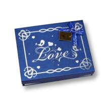 Bonbon doboz Love felirattal