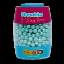 DecoCino gyöngyház kék cukorgyöngy 65 g
