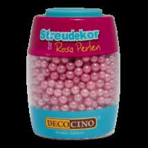 DecoCino gyöngyház rózsaszín cukorgyöngy 65 g