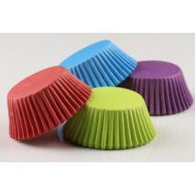 Élénk színű muffin papír 80 db