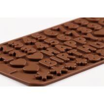 HAPPY BIRTHDAY szilikon csoki öntőforma