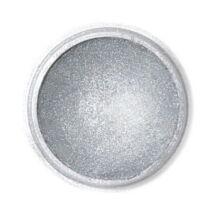 Sötét metál ezüst Fractal ehető csillámpor