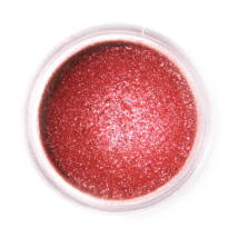 Szikrázó vörös Fractal ehető csillámpor