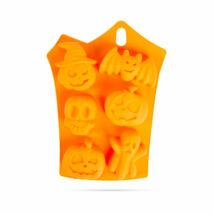 Halloween szilikon muffin forma