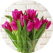 Tulipánok vázában tortaostya