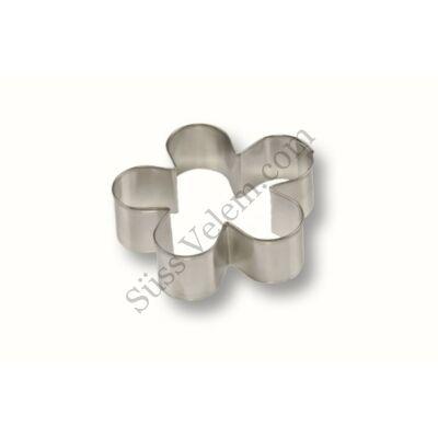 Ötszirmú virág fánkszaggató forma