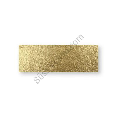 10*30 cm-es arany színű desszertalátét karton