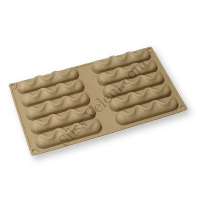 10 adagos rúd alakú szilikon mousse forma