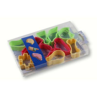 10 részes különleges süti kiszúró készlet gyerekeknek