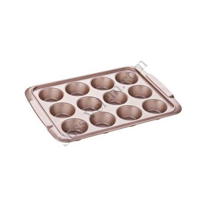 12 adagos Tescoma Delícia Gold muffin sütőforma