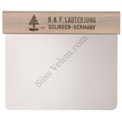 12 cm-es LAUTERJUNG fa nyelű rozsdamentes trokser