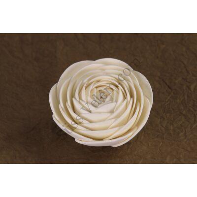 12 db fehér boglárka cukorvirág (nem ehető)