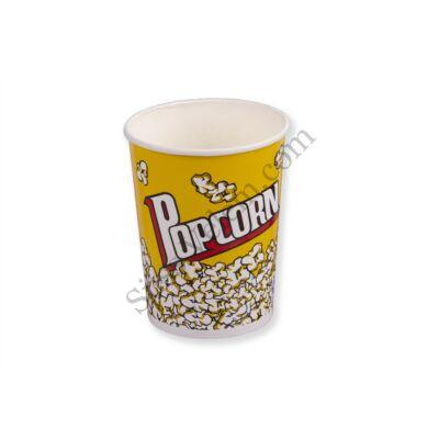14 cm magas papír Popcorn vödör