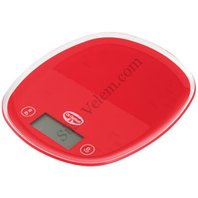 Piros Dr oetker digitális konyhai mérleg