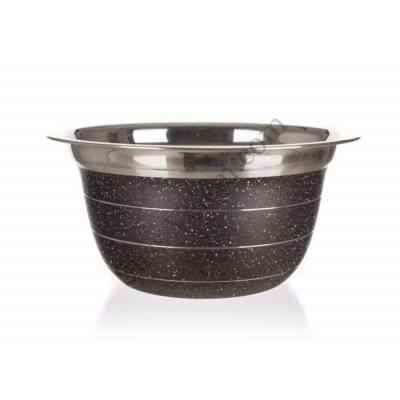 10 cm-es Banquet Granite barna mini keverőtál