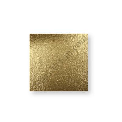 16*16 cm-es arany színű desszertalátét karton