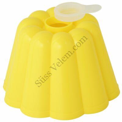 Műanyag 0,6 l-es Dr Oetker puding forma