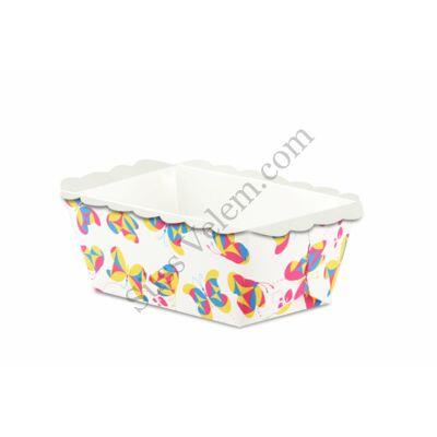 10 db Dr Oetker téglalap alakú mini papír sütőforma