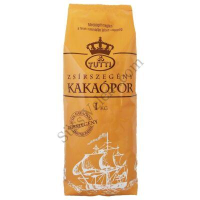 1 kg 10-12%-os zsírszegény holland kakaópor Tutti