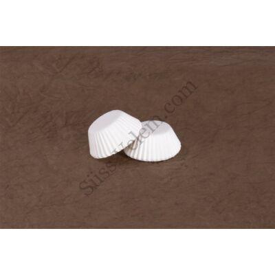 2,5 cm-es fehér süthető bonbon kapszli