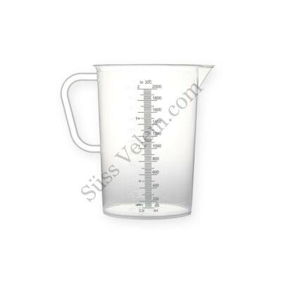 2 literes műanyag mérőkancsó