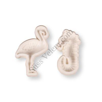2 részes csikóhal és flamingó fondant kiszúró készlet