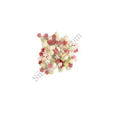 250 g apró nemzeti színű csillag alakú cukorkonfetti tortadekor