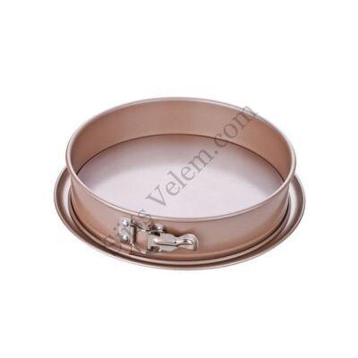 26 cm-es tapadásmentes kapcsos tortaforma Tescoma Delícia Gold