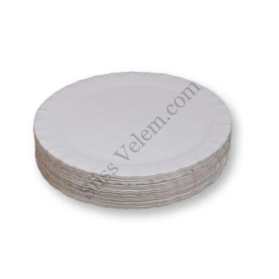 29 cm-es fehér tortaalátét karton 100 db