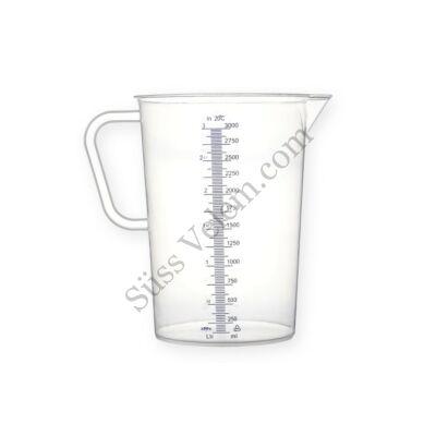 3 literes műanyag mérőkancsó