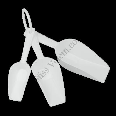 3 részes műanyag Metaltex lisztlapát készlet