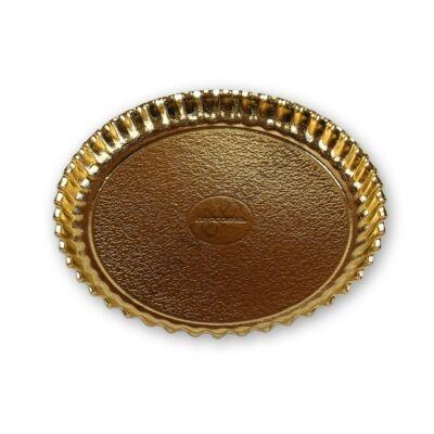 34 cm-es kerek peremes tortaalátét karton 2 db Tescoma Delicia