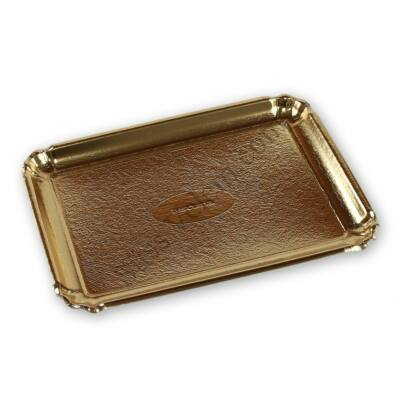 35*25 cm-es szögletes peremes tortaalátét karton 3 db Tescoma Delicia