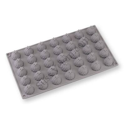 35 adagos szeder alakú szilikon forma