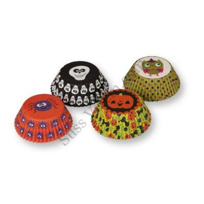 4 -féle Halloween mintás muffin papír (100 db)