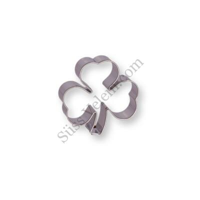 4,5 cm-es 3 levelű lóhere kiszúró forma