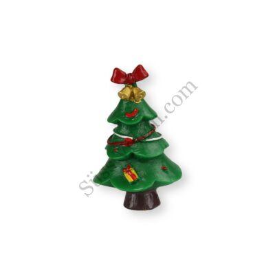 4,5 cm-es masnis fenyőfa műanyag tortadísz