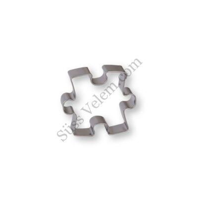 4,5 cm-es puzzle kiszúró forma