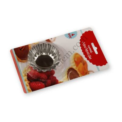 4 részes kosárka sütőforma készlet