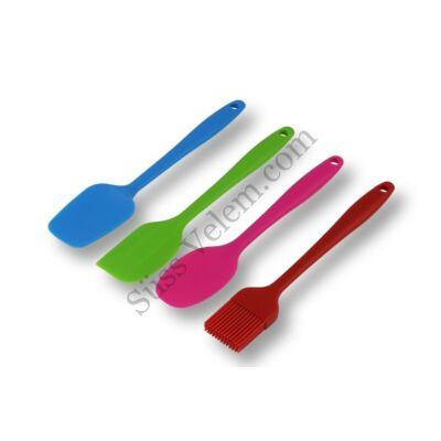 4 részes szilikon konyhai eszköz készlet